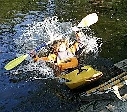 Kanuverein sticht in See