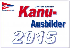 DKV-anerkannter Kanu-Ausbilder2015